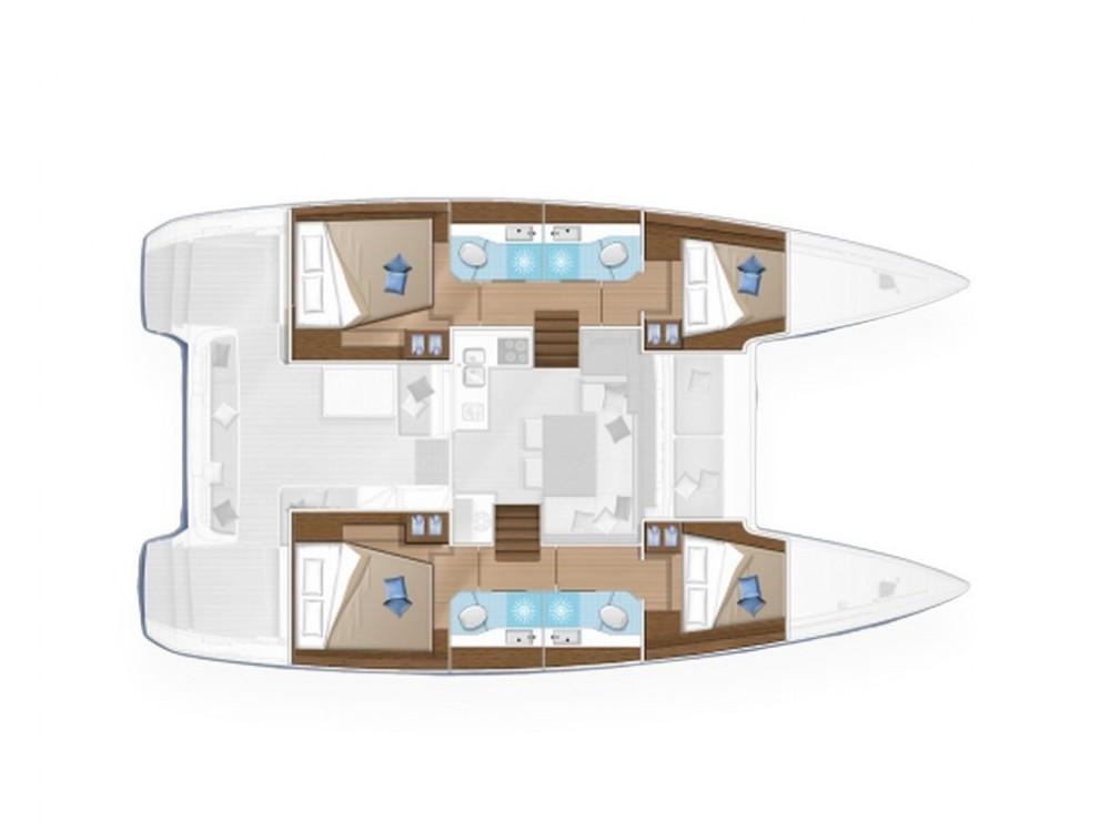 Rental Catamaran in Capo d'Orlando Marina - Lagoon Lagoon 40 (Gen+A/C+WM)