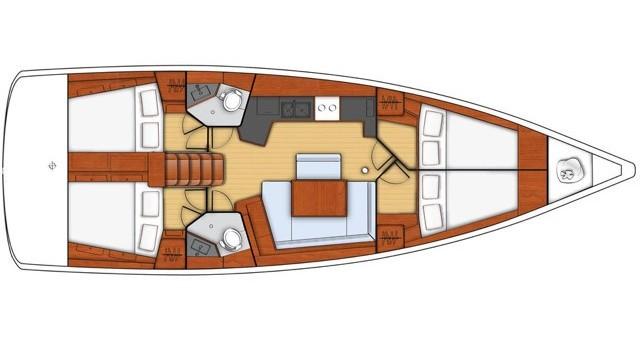 Boat rental Bénéteau Oceanis 45 in Salerno on Samboat