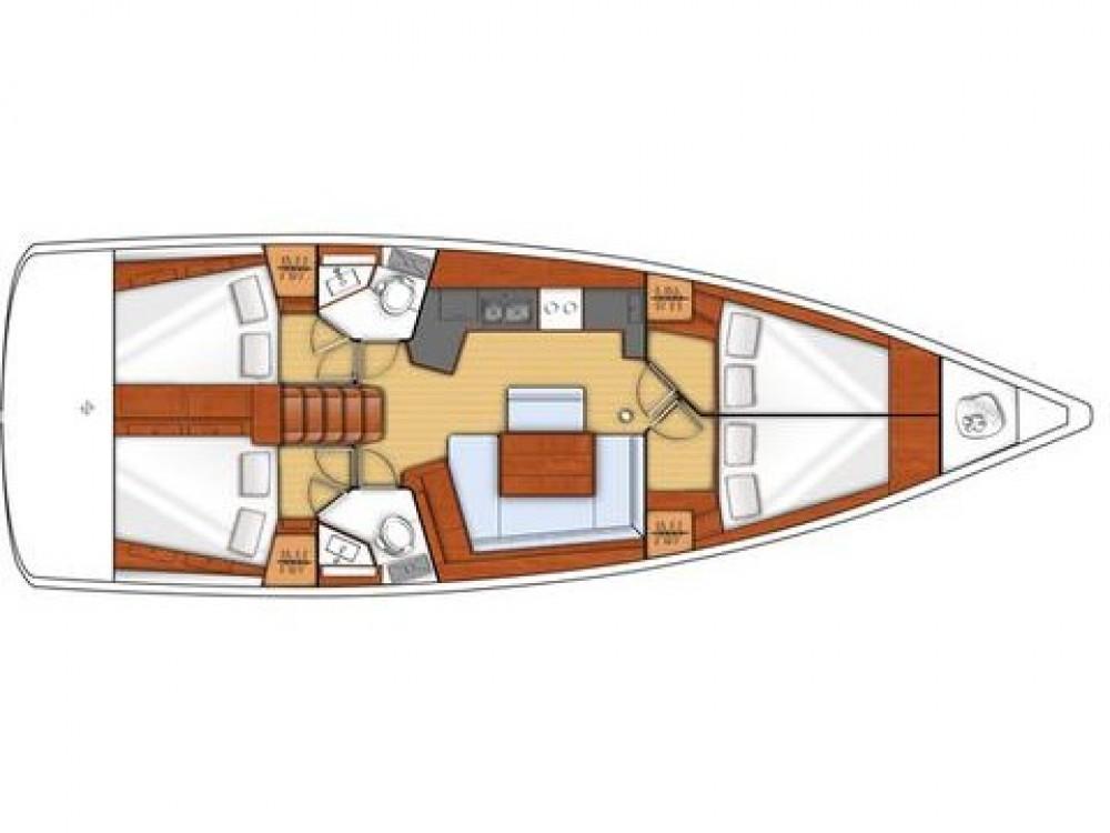 Boat rental Capo d'Orlando cheap Oceanis 46.1 - 4 cab.
