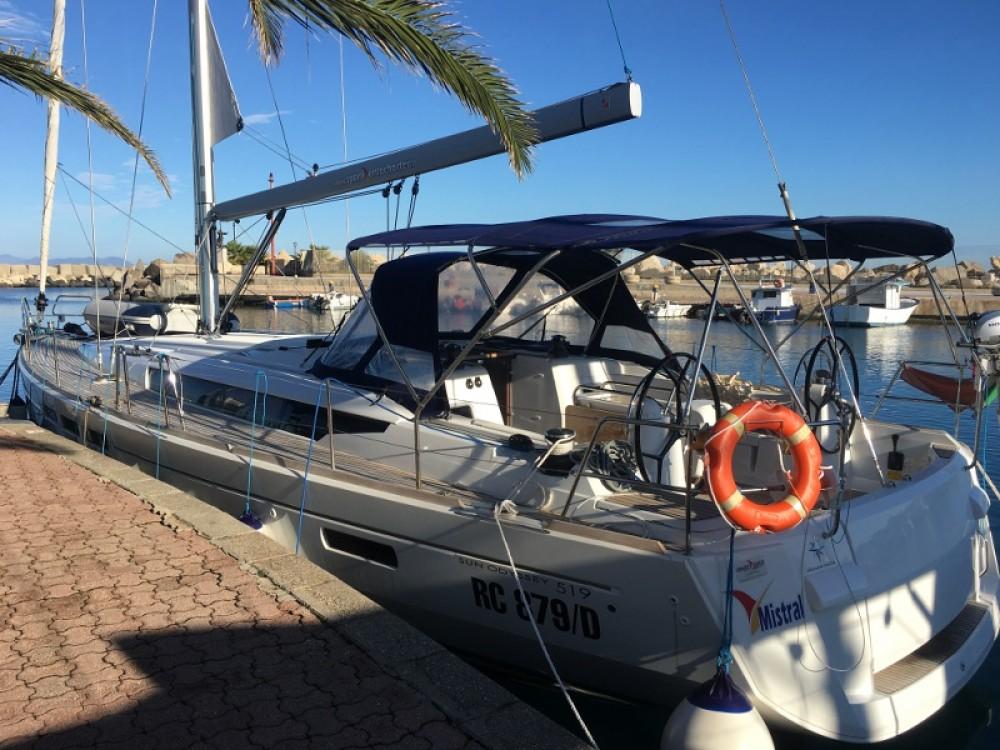 Rental Sailboat in Trapani - Jeanneau Sun Odyssey 519