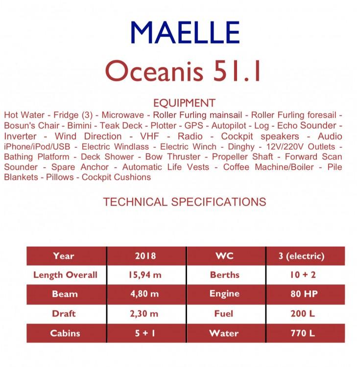Rent a Bénéteau Oceanis 51.1