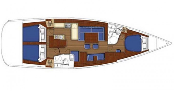 Rental yacht Marina di Portorosa - Bénéteau Oceanis 50 on SamBoat