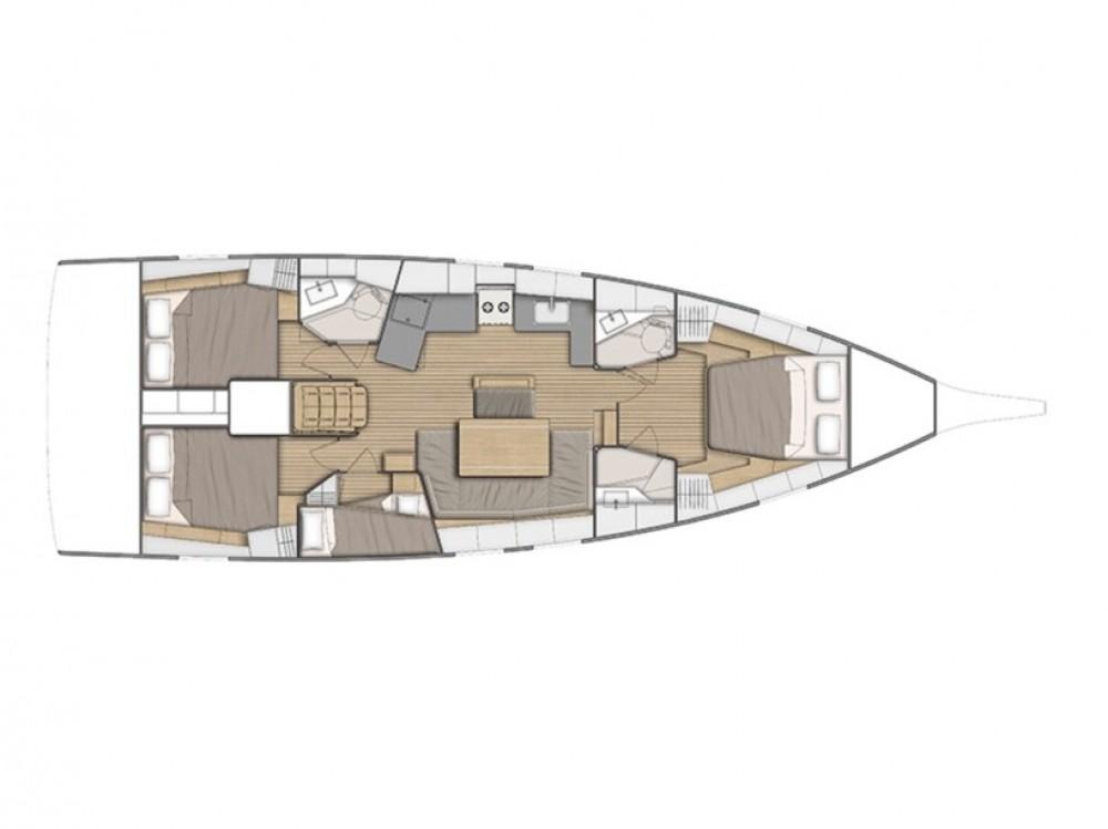 Rent a Bénéteau Oceanis 46.1 (bunk cab) Furnari