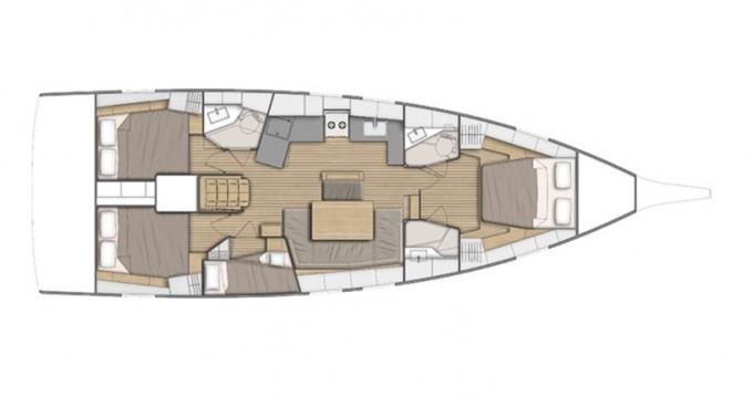 Boat rental Bénéteau Oceanis 46.1 in Salerno on Samboat