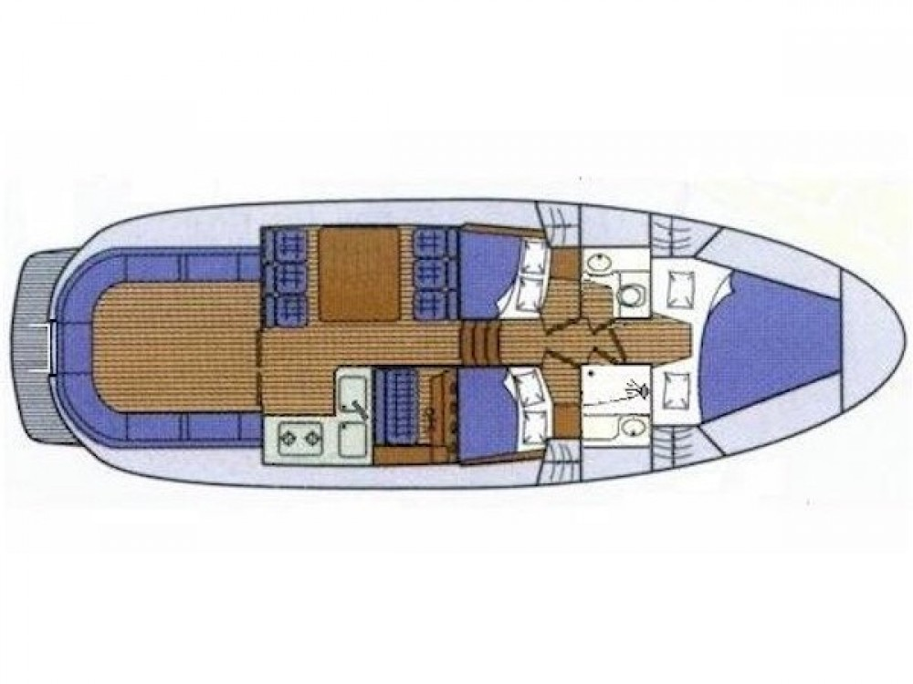 Rental yacht Marina Zadar - Sas Vektor ADRIA 1002 on SamBoat