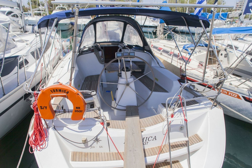 Jeanneau Sun Odyssey 36i between personal and professional Alimos Marina