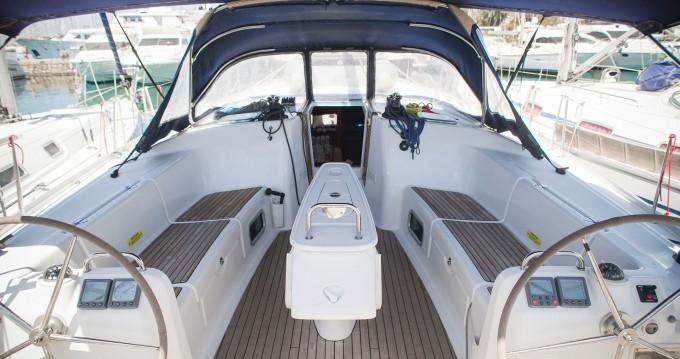 Boat rental Alimos cheap Cyclades 50.5
