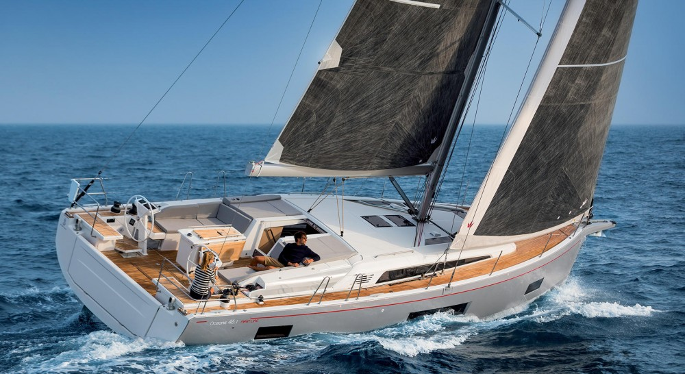 Boat rental Lefkada cheap Oceanis 461