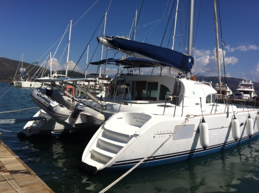 Rental yacht Préveza - Lagoon Lagoon 380 on SamBoat