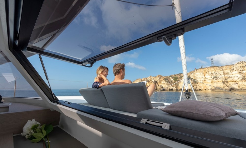 Fountaine Pajot Elba 45 between personal and professional Preveza