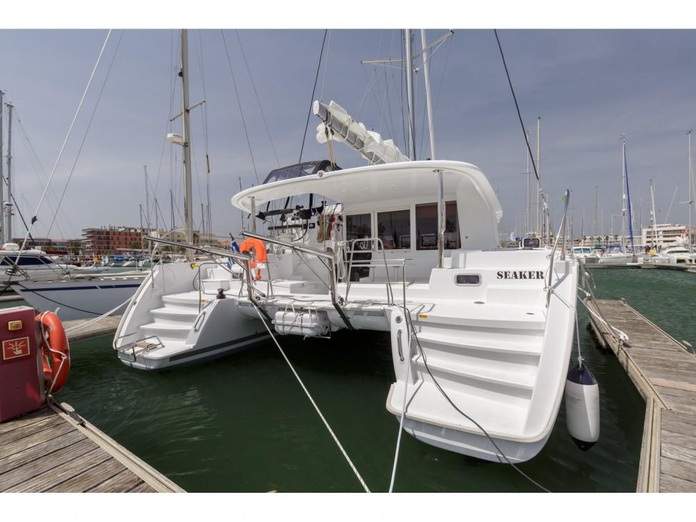 Boat rental Preveza cheap Lagoon 400 S2