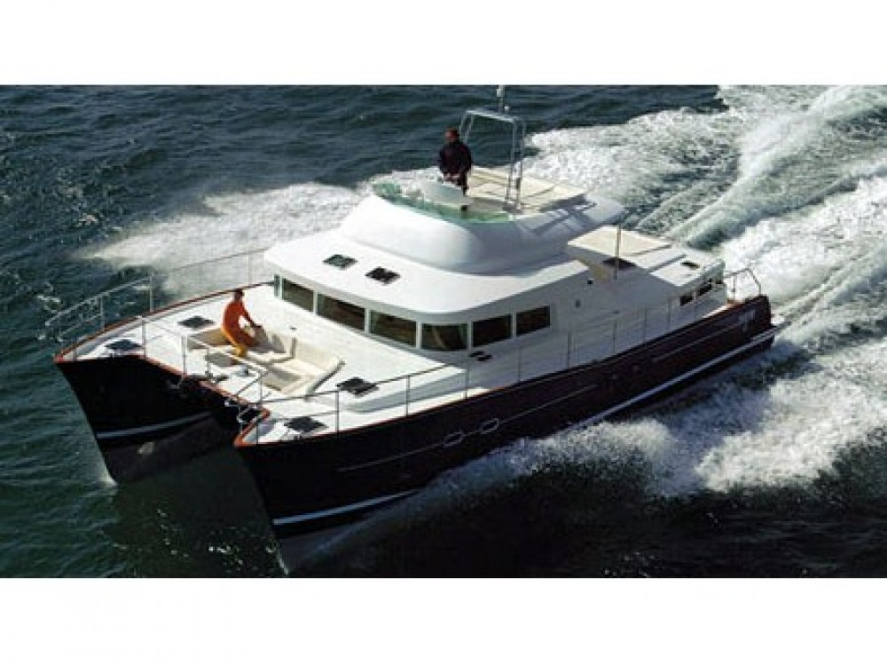 Boat rental Gassin cheap Lagoon Power 43