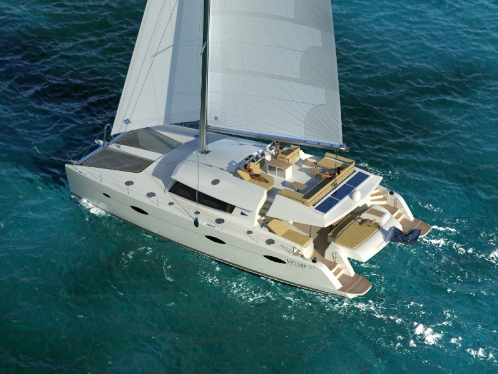 Rent a Fountaine Pajot Victoria 67 Gassin