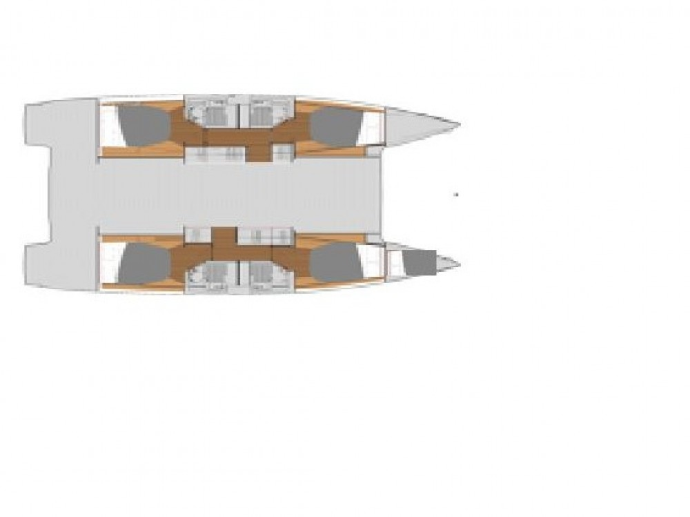 Hire Catamaran with or without skipper Fountaine Pajot Gassin
