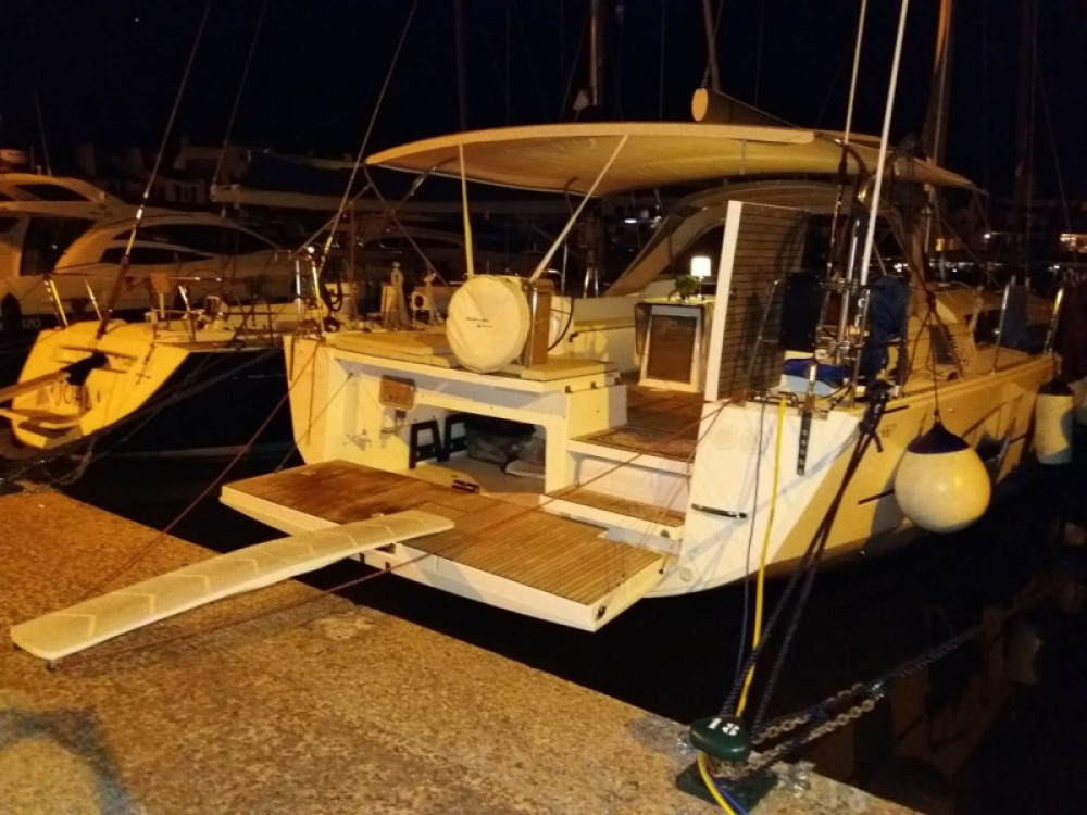 Boat rental Dufour Dufour 560 Grand Large in Capo d'Orlando on Samboat
