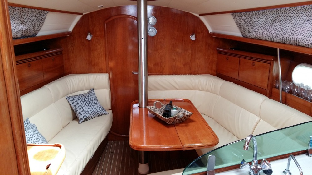 Boat rental Marina Gouvia cheap Jeanneau Sun Odyssey 35