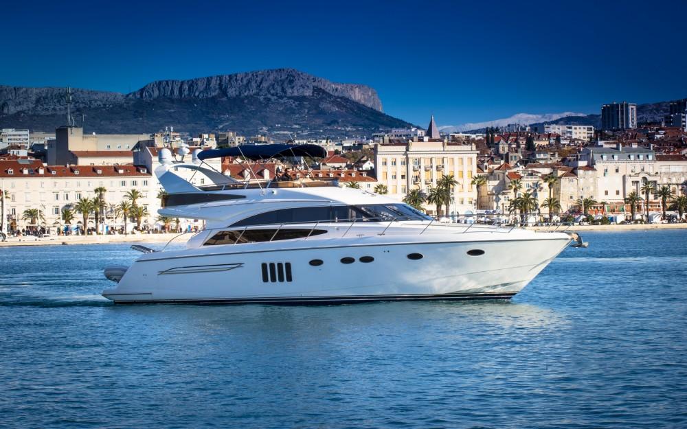 Boat rental Split cheap Princess 62