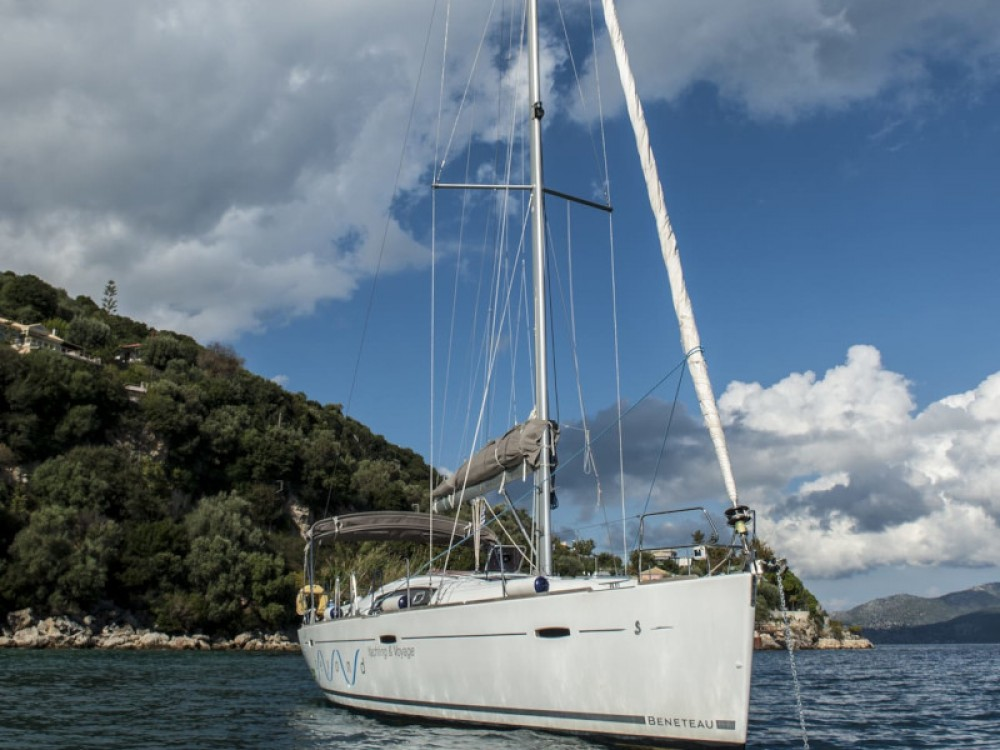 Boat rental Lefkada cheap Oceanis 43
