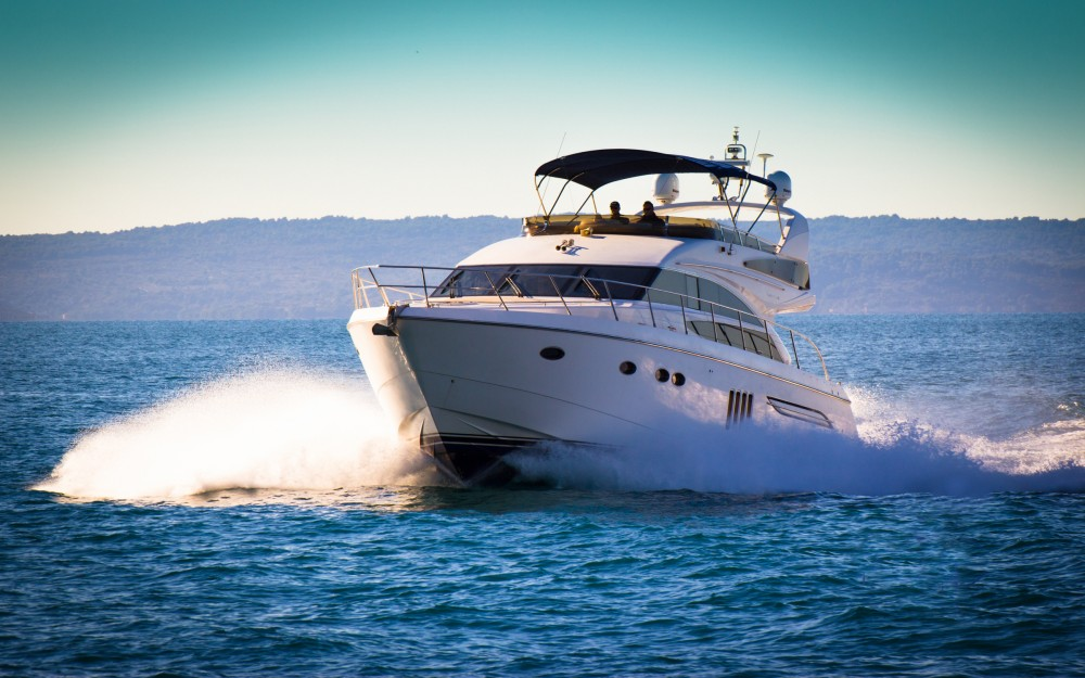 Boat rental ACI Marina Split cheap Princess 62