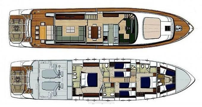 Rental yacht Göcek - Sanlorenzo San Lorenzo 72 on SamBoat