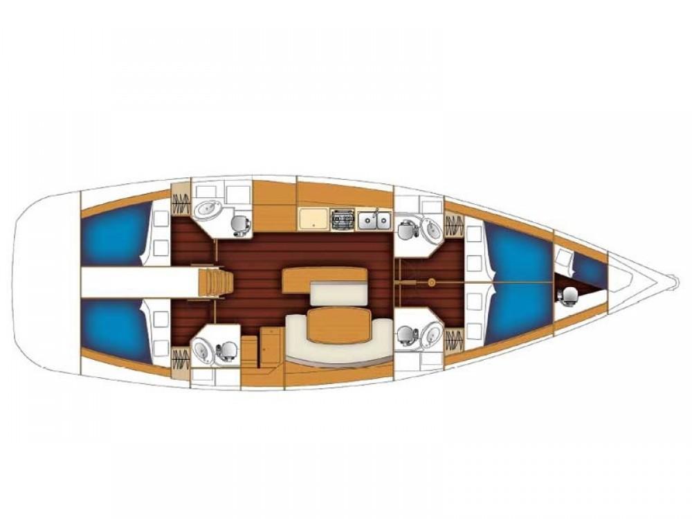 Boat rental Ibiza cheap Cyclades 50.4