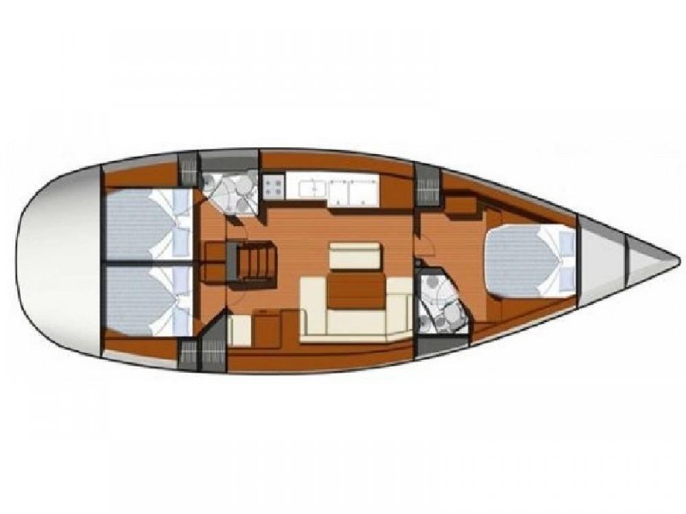 Rental yacht Nettuno - Jeanneau Sun Odyssey 49i on SamBoat