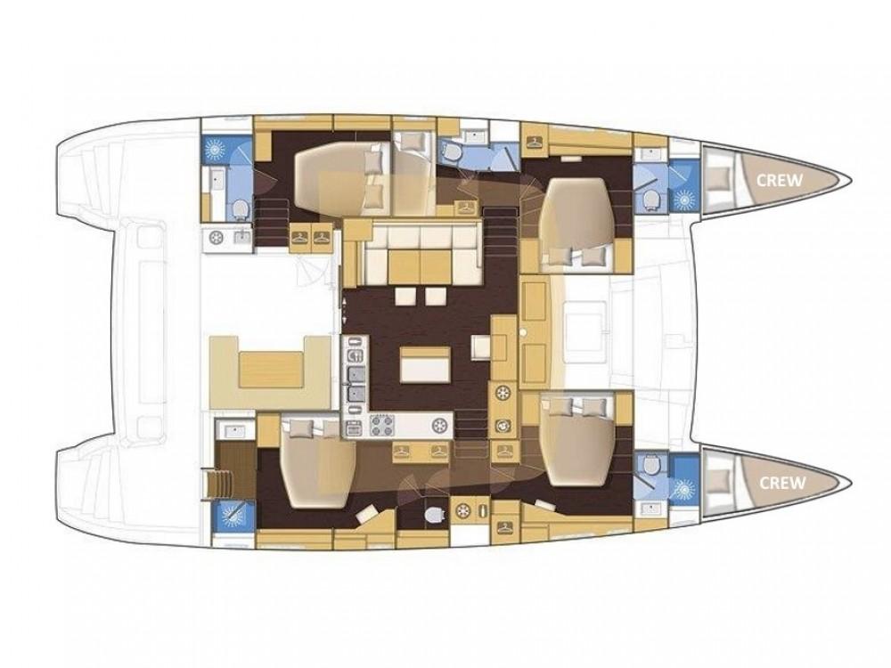 Rental Catamaran in Marina Kaštela - Lagoon Lagoon 560