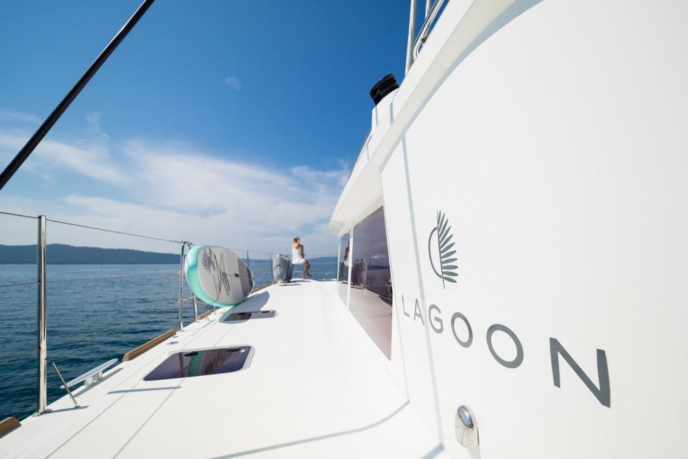 Hire Catamaran with or without skipper Lagoon Marina Kaštela