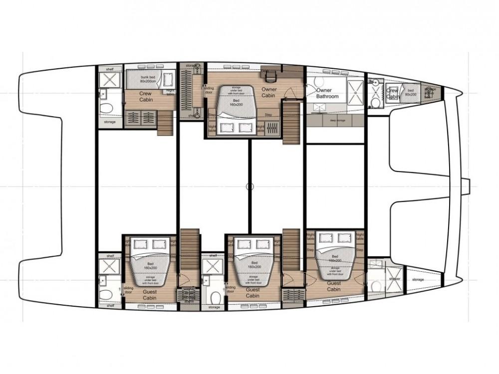 Rental yacht Kaštel Gomilica - Sunreef Sunreef 60 on SamBoat
