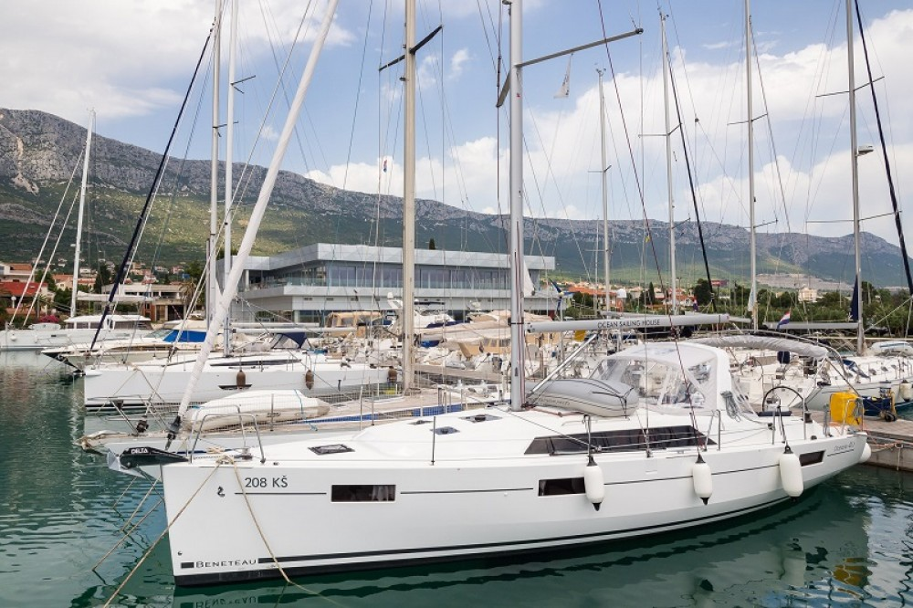 Boat rental Marina Kaštela cheap Oceanis 41.1