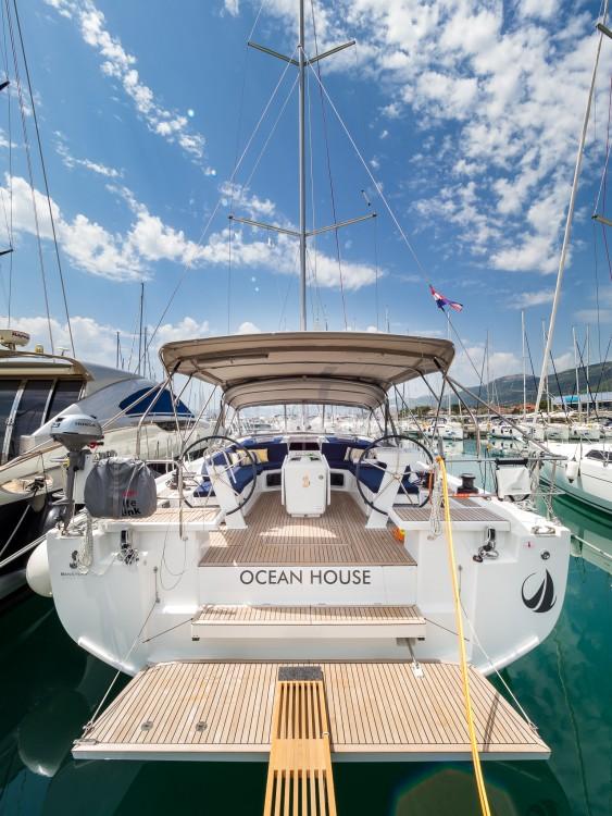 Boat rental Marina Kaštela cheap Oceanis 51.1