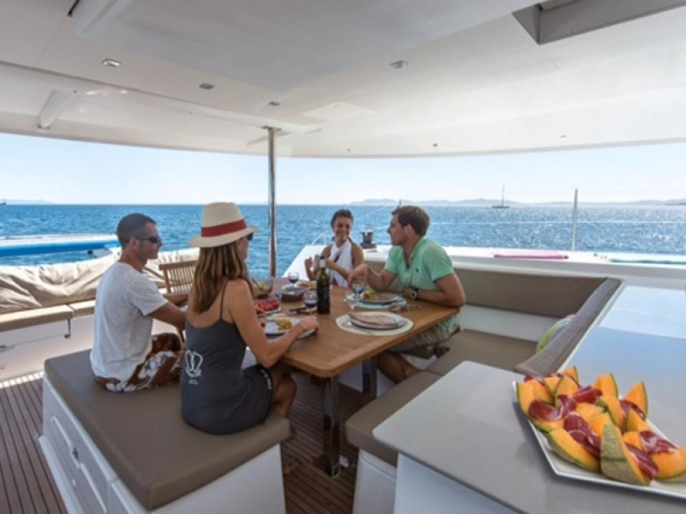 Rental yacht  - Fountaine Pajot Saba 50 on SamBoat