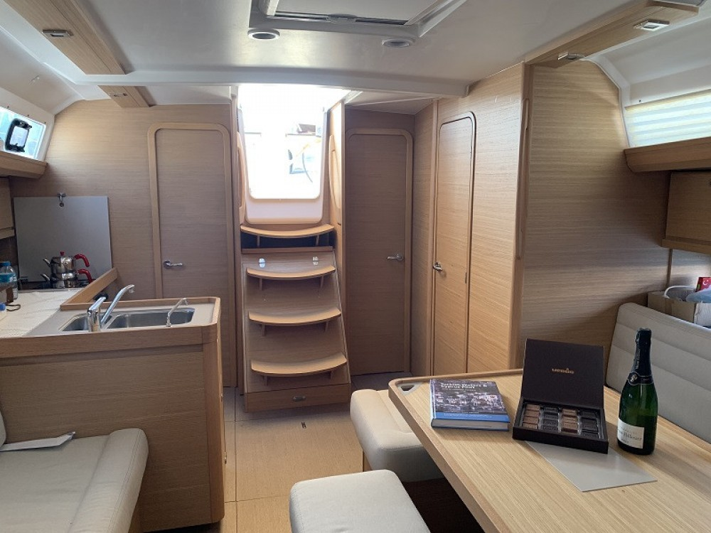 Dufour Dufour 412 Grand Large between personal and professional Fethiye