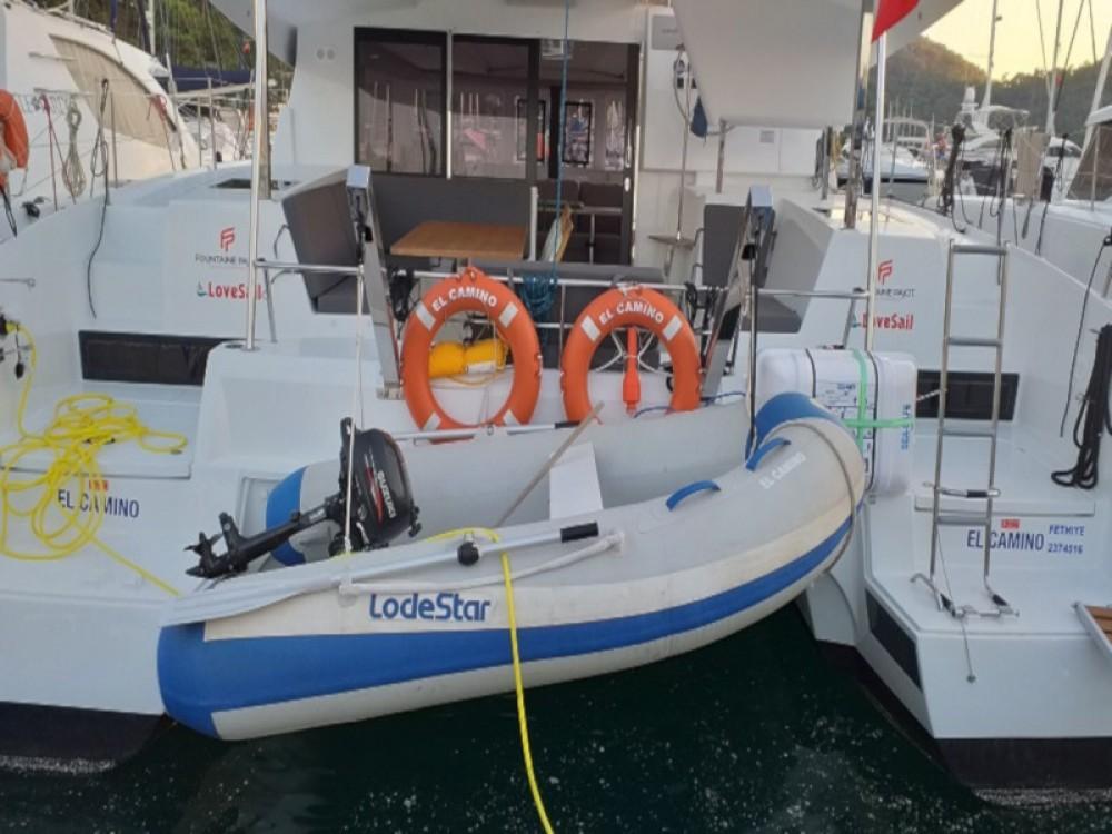 Rental yacht Fethiye - Fountaine Pajot Lucia 40 on SamBoat