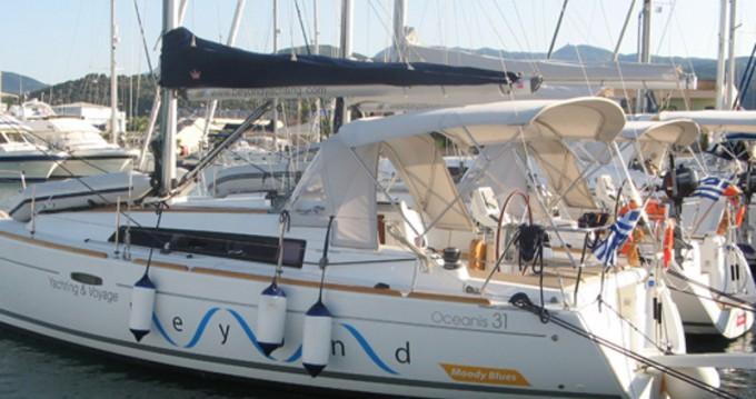 Rental Sailboat in Lefkada (Island) - Bénéteau Oceanis 31