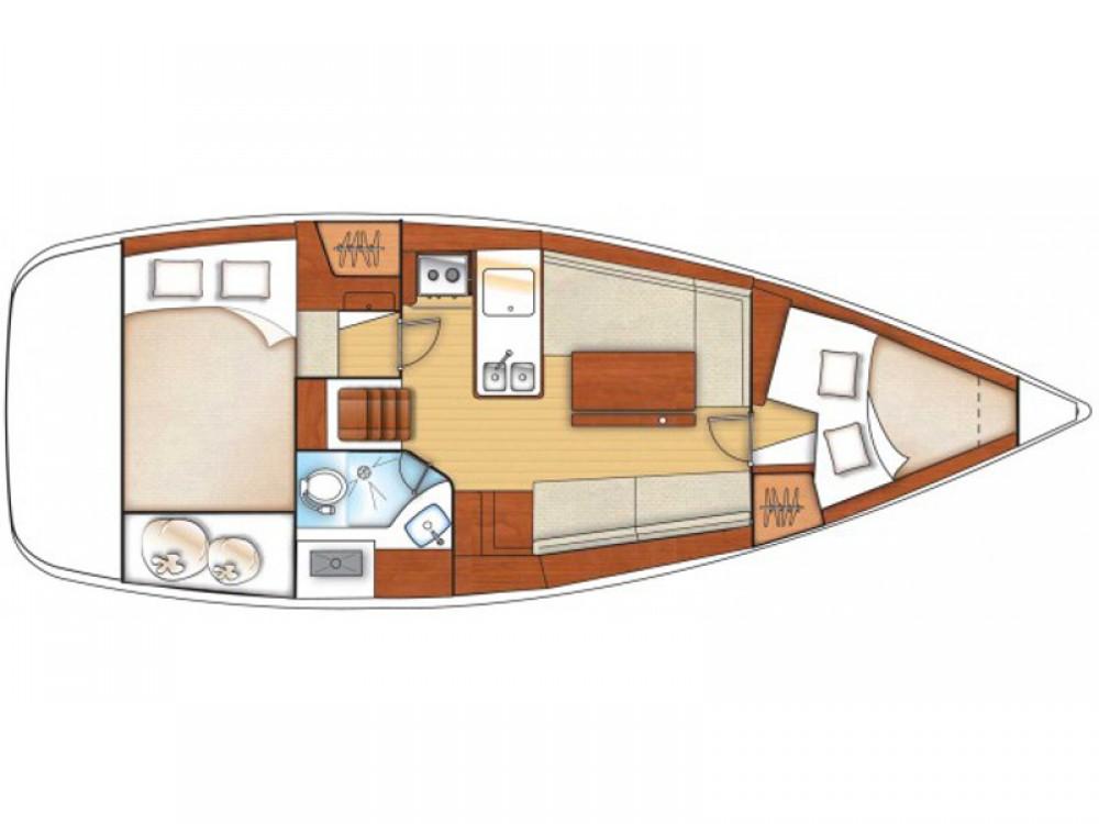 Rental Sailboat in Lefkada - Bénéteau Oceanis 31