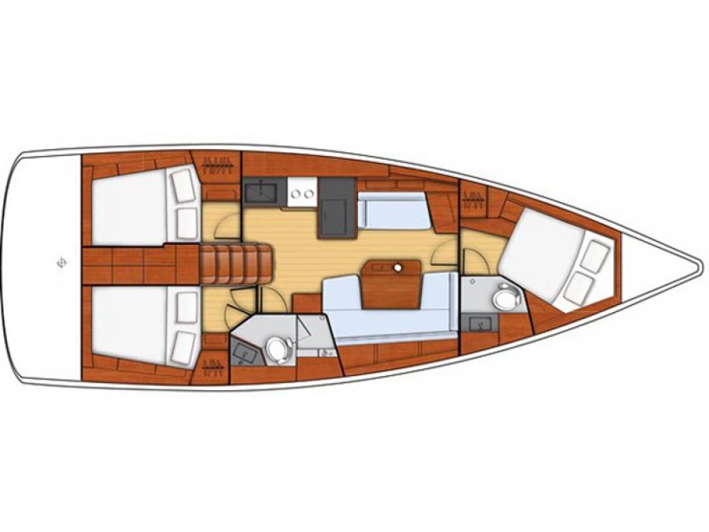 Boat rental Lefkada cheap Oceanis 41.1