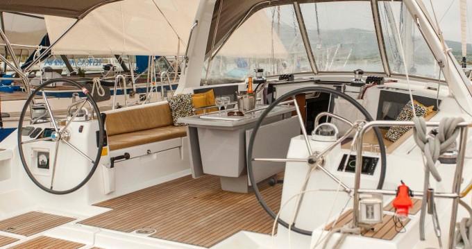 Rental Sailboat in Lefkada (Island) - Bénéteau Oceanis 45