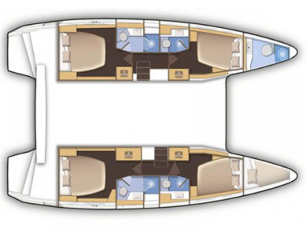 Rental Catamaran in Lefkada - Lagoon Lagoon 42