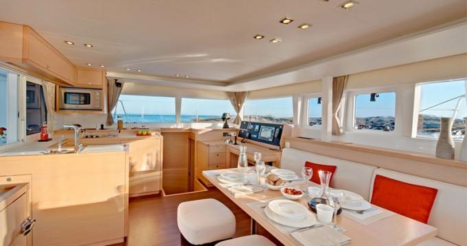Hire Catamaran with or without skipper Lagoon Marina di Portisco