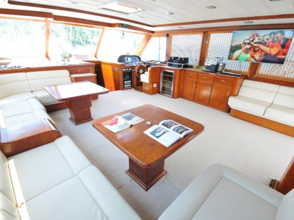 Rental Sailboat in Alimos Marina -  Gulet- Euphoria I