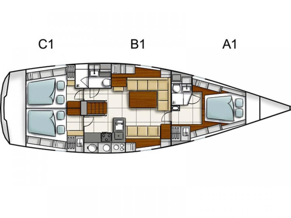 Rental Sailboat in Alimos Marina - Hanse Hanse 470