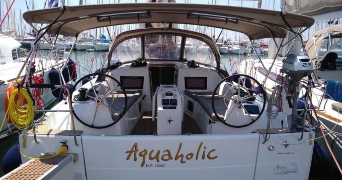 Rental yacht Athens - Jeanneau Sun Odyssey 410 ( INVENTER)  on SamBoat
