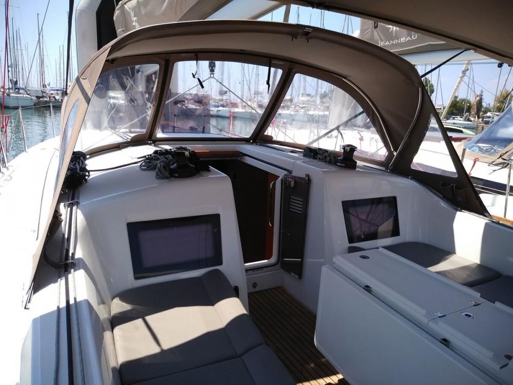 Boat rental Alimos Marina cheap Sun Odyssey 410 ( INVENTER)
