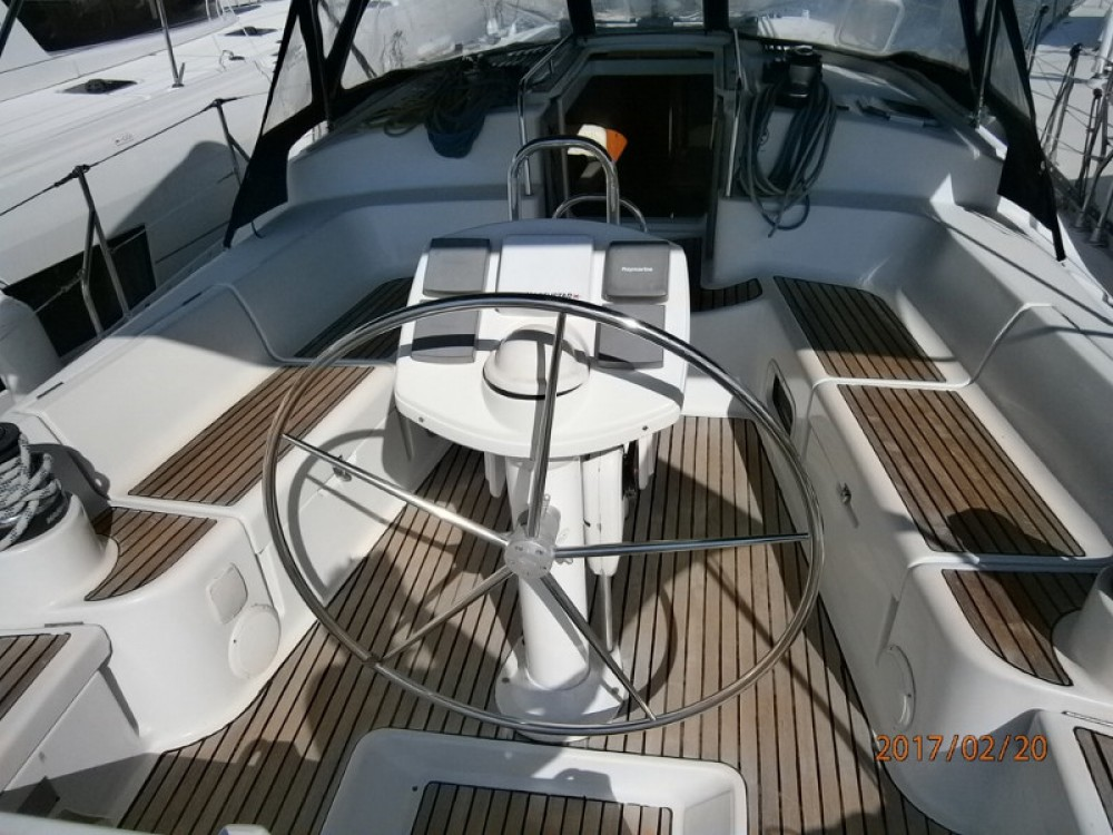 Jeanneau Sun Odyssey 43DS between personal and professional Alimos Marina