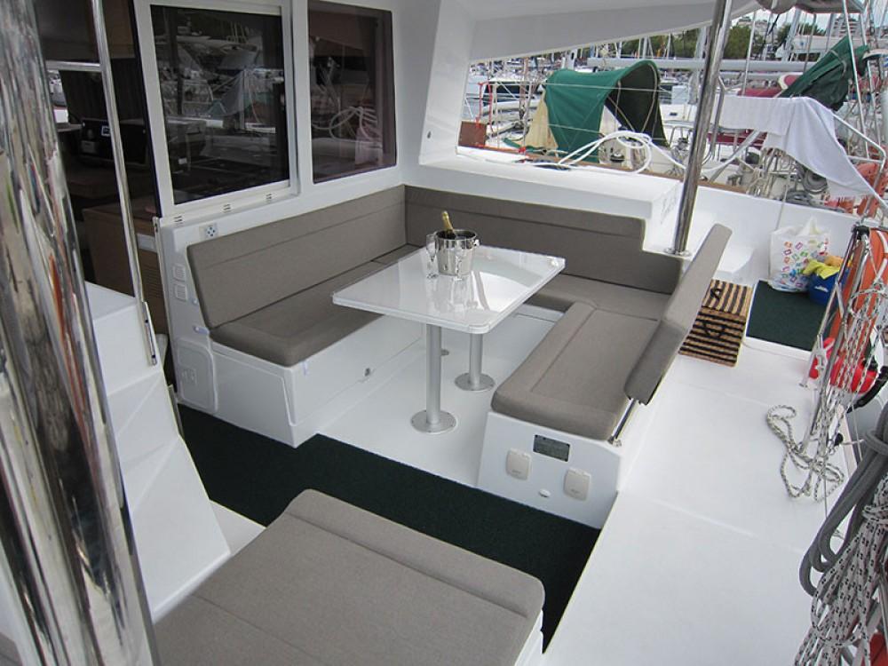 Boat rental Alimos Marina cheap Lagoon 400 S2