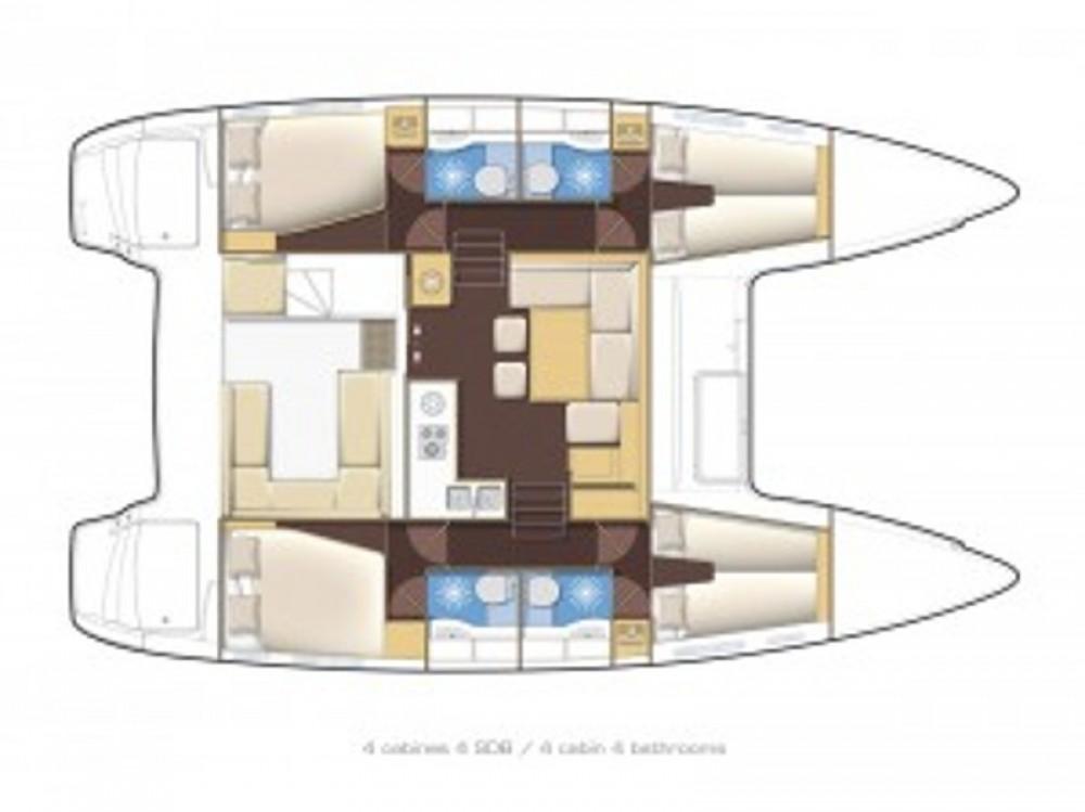Rental Catamaran in Alimos Marina - Lagoon Lagoon 400 S2