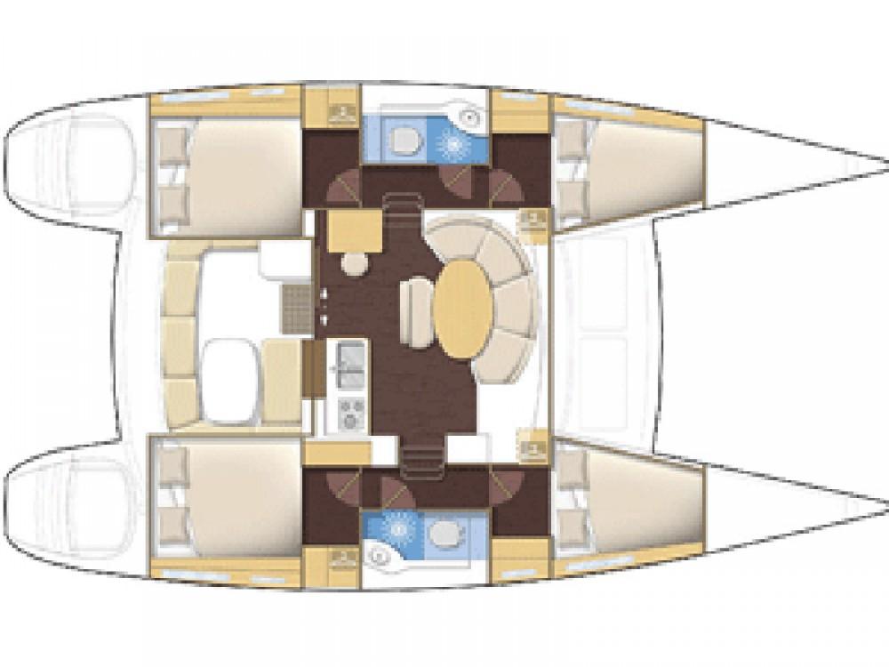 Rental Catamaran in Laurium - Lagoon Lagoon 380