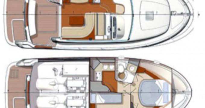 Rental yacht Punat - Jeanneau Prestige 36 Fly on SamBoat