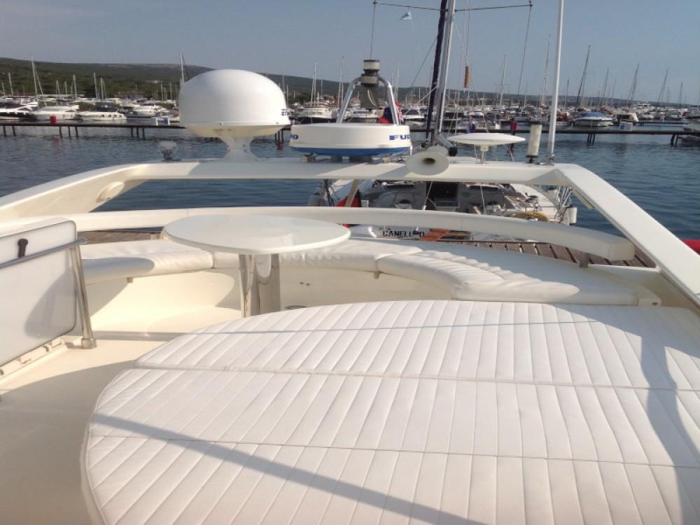 Boat rental Krk cheap Ferretti 460
